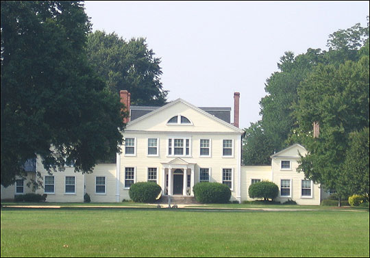 Wye House Plantation, the Great House Farm spoken of by Frederick Douglass, Talbot County, Maryland, Eastern Shore