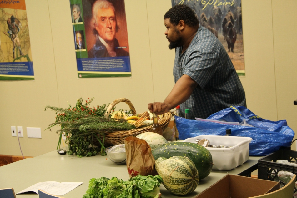 Presenting at the Heritage Harvest Festival 2011