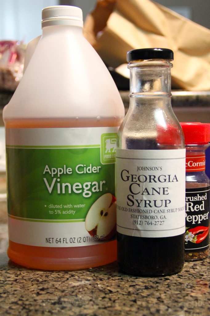 Cane Syrup and Vinegar