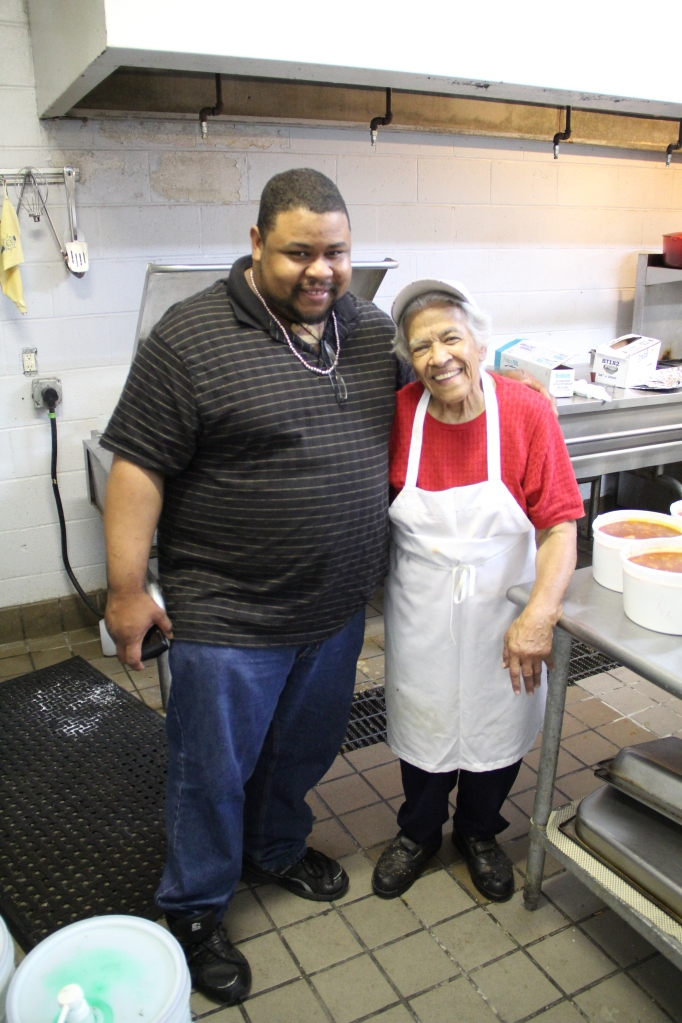 Lunch with Chef Leah Chase of Dooky Chase Restaurant New Orleans