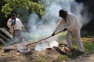 Beginning my Colonial Afro-Virginian Barbecue Experiment, Colonial Williamsburg