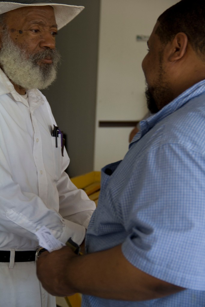 Meeting James Meredith, Activist, Teacher, Elder who Integrated the University of Mississippi