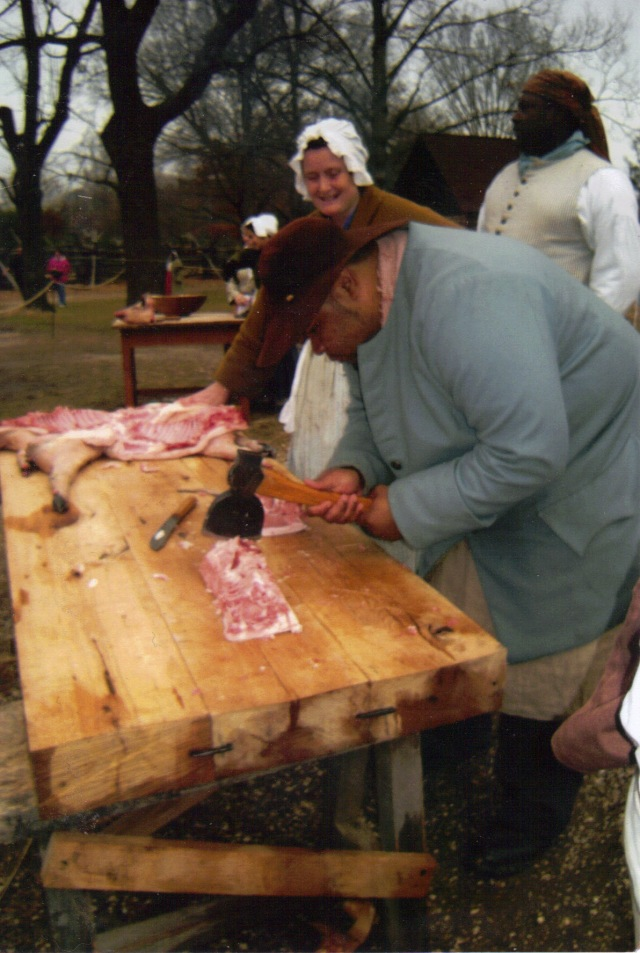 Dividing Up the Carcass