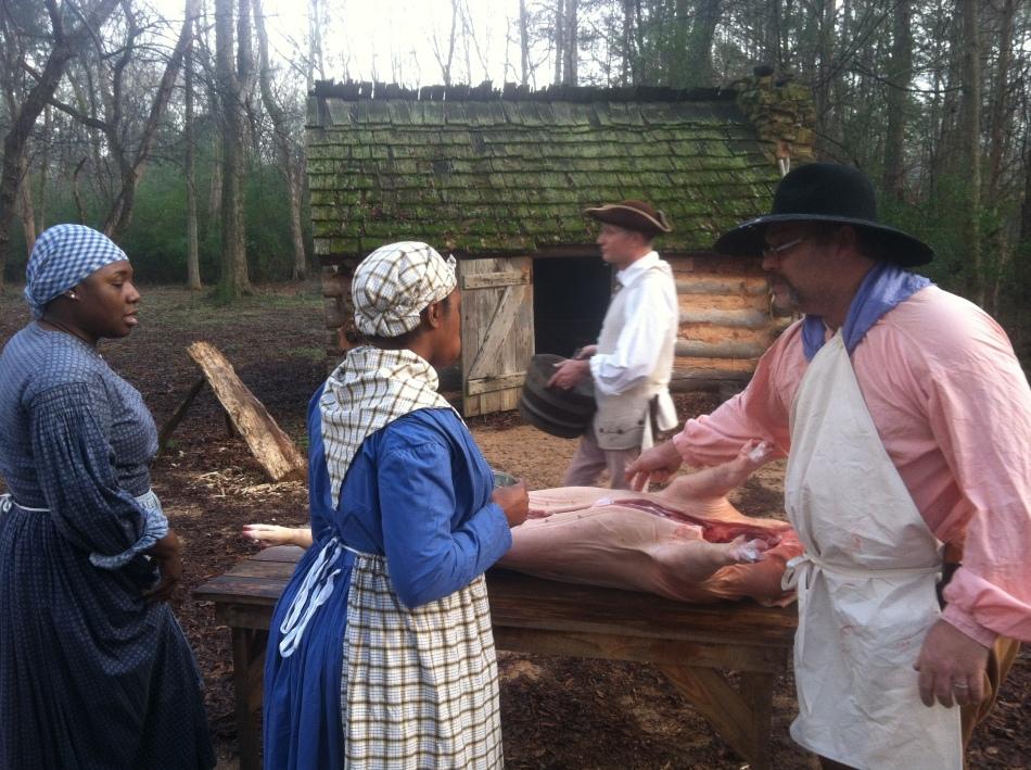Brattonsville Butchering