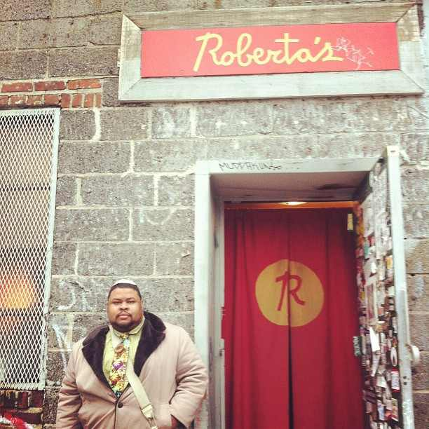 Outside of Roberta's and the Heritage Radio Network Studios: Photo By Nicole Taylor
