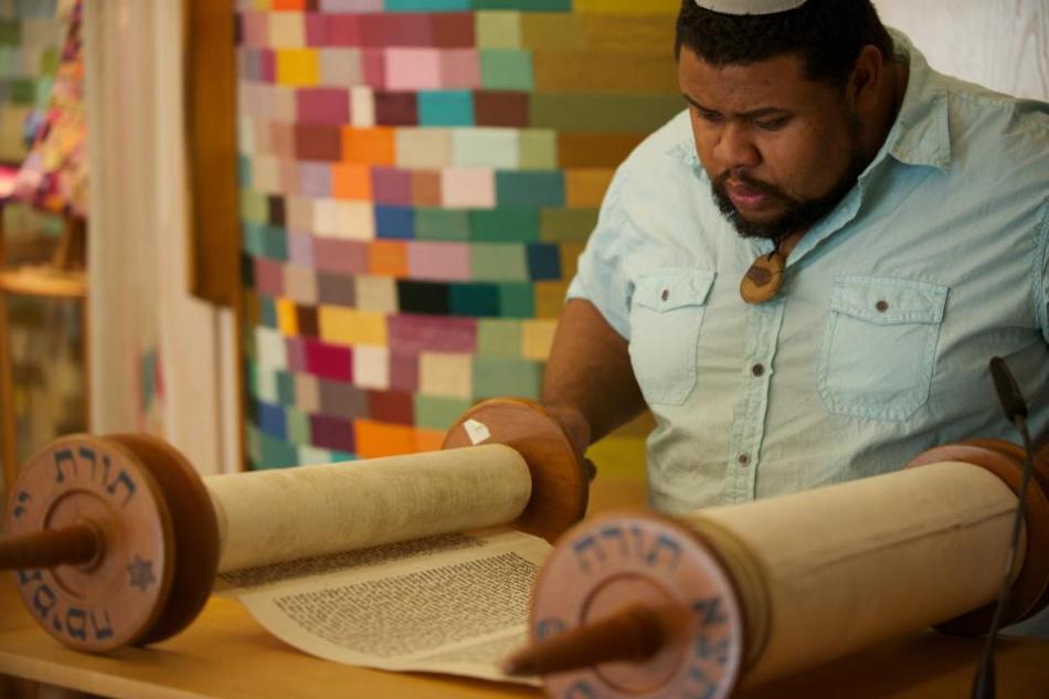 Torah Scrolls, copyright Jasper Colt