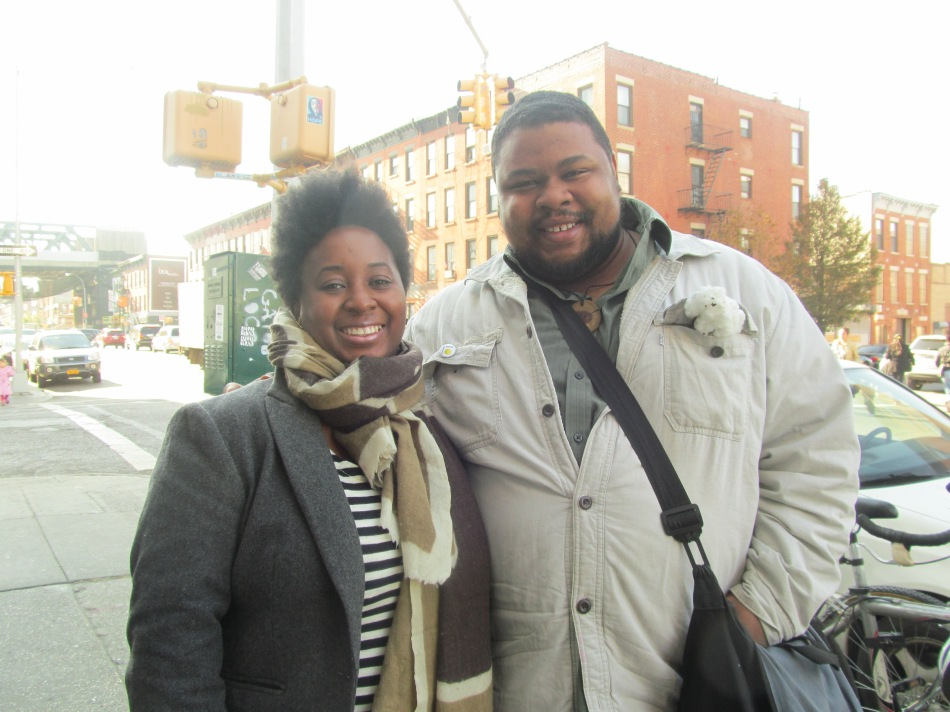 With Nicole Taylor of Heritage Radio Network in Brooklyn