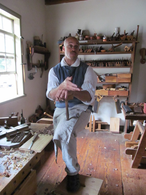 Jerome Bias, Master Carpenter and Material Culture Scholar, Old Salem, NC