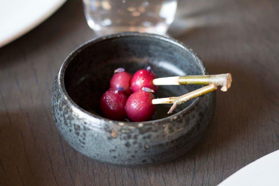 Fermented Gooseberries on Twigs