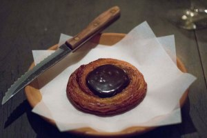 Roasted Barley Malt Danish--and yes it tastes like Chocolate--MY FAVORITE thing in DENMARK