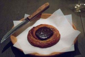 Roasted Barley Malt Danish--and yes it tastes like Chocolate--MY FAVORITE thing in DENMARK