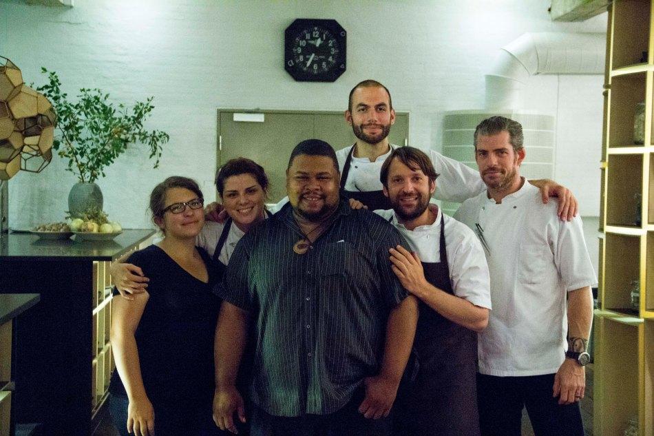 Rene Redzepi and some of his amazing staff