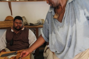 The Grunt Work, 108 degree kitchen, Colonial Williamsburg, Virginia