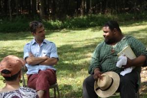 Dialogue with Hugh Acheson at Stagville Plantation, North Carolina