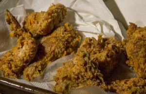Fried Chicken from Georgia made on the Open Hearth