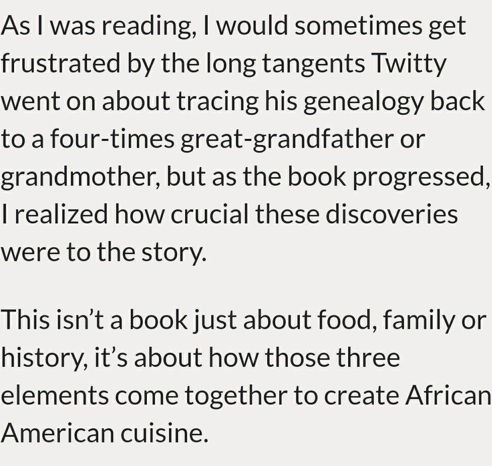 column the cooking gene enlightens on soul food southern  the knowledge of our ancestors and our stories is critical to the true history of our food writing about one s genealogy is not easy but she got exactly